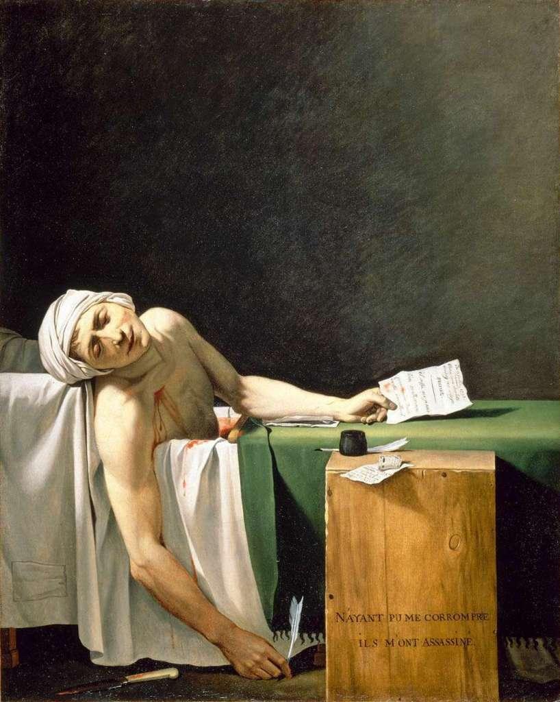 6-la-mort-de-marat-jacques-louis-david-1793
