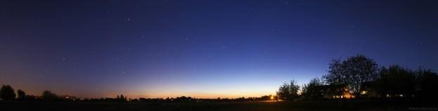 Orion au crépuscule