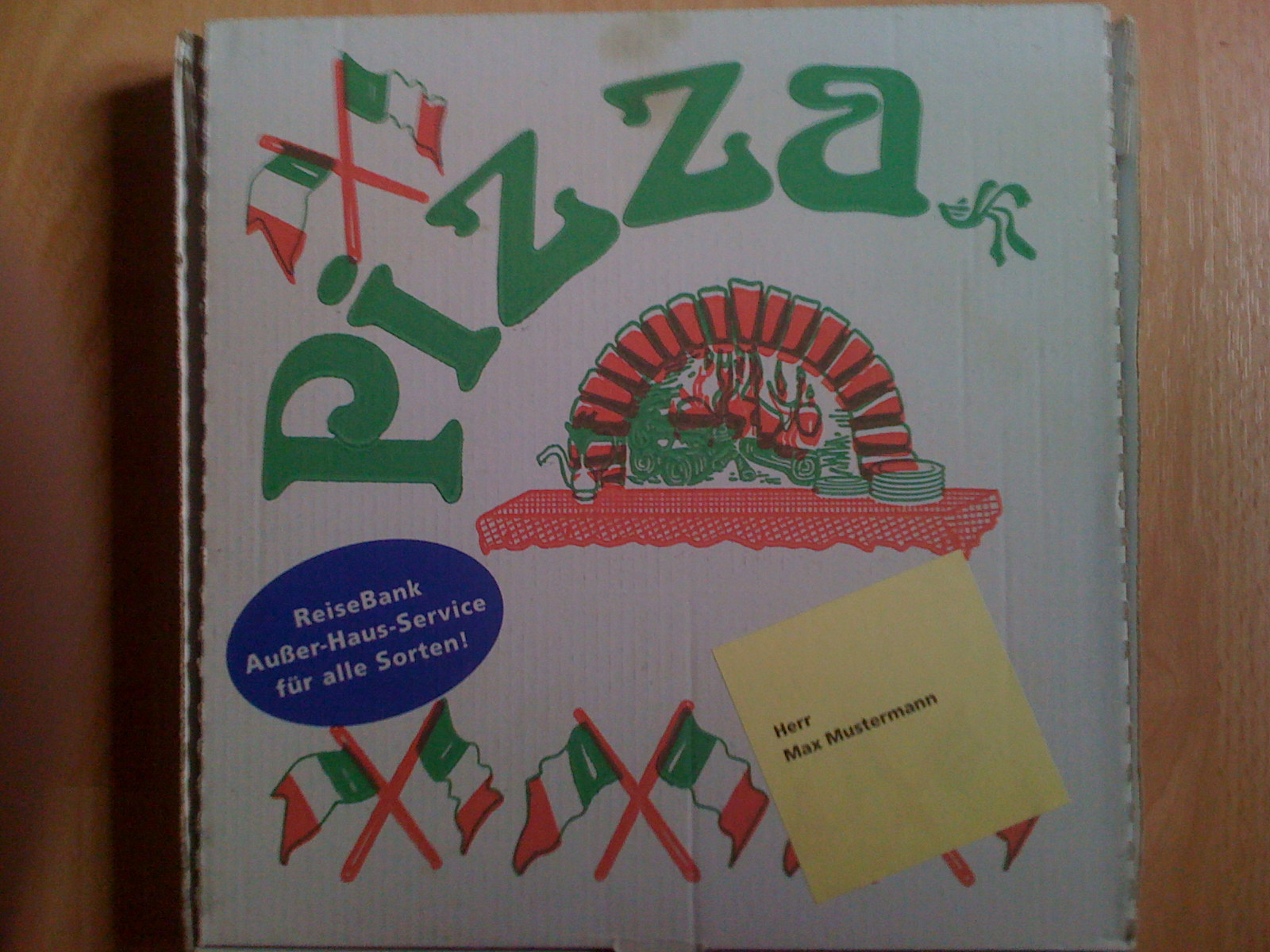 Pizza Mailing 1