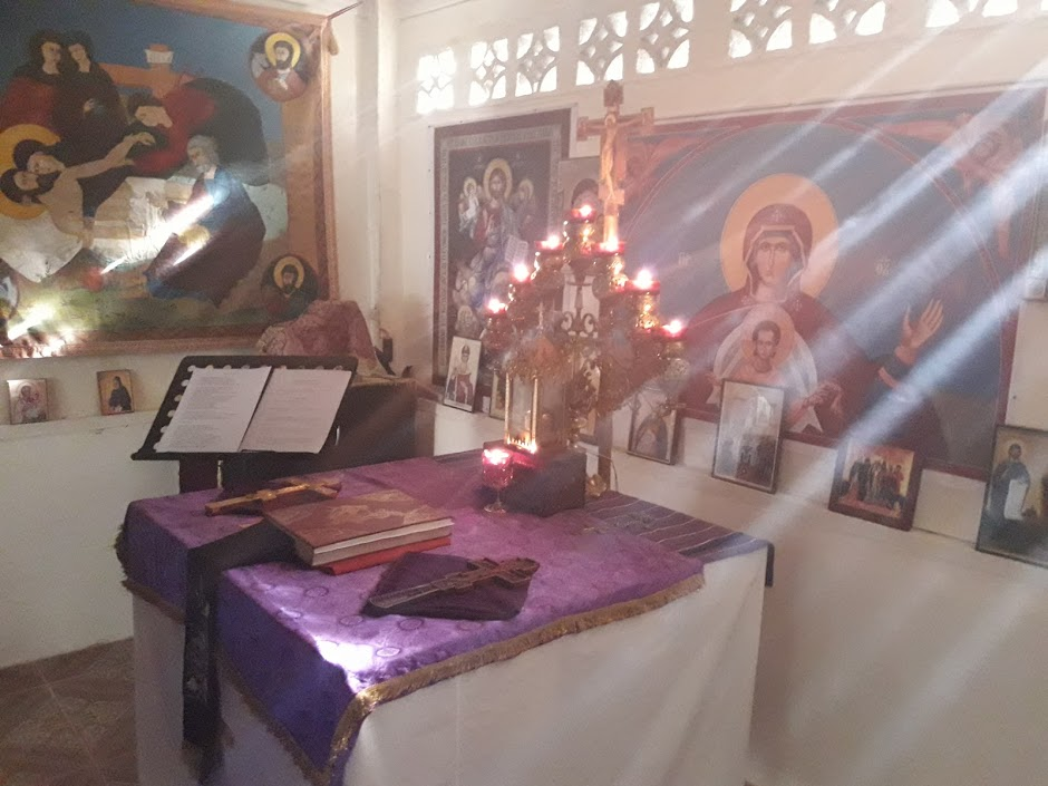 Altar - Lent