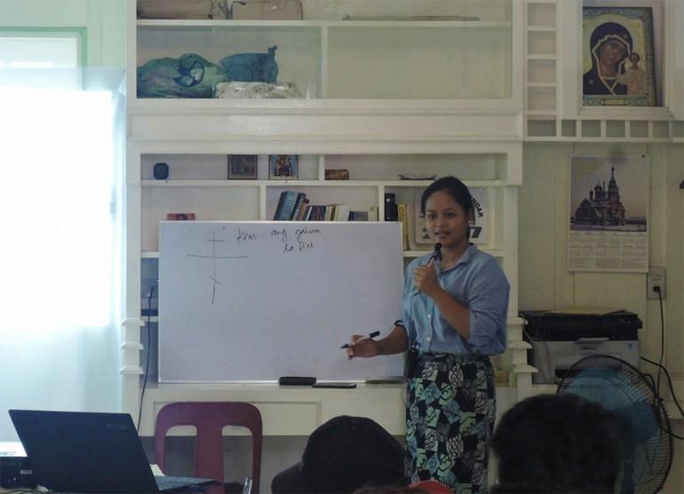 Anysia teaching