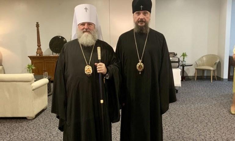 Metropolitan Pavel with metropolitan Sergiy