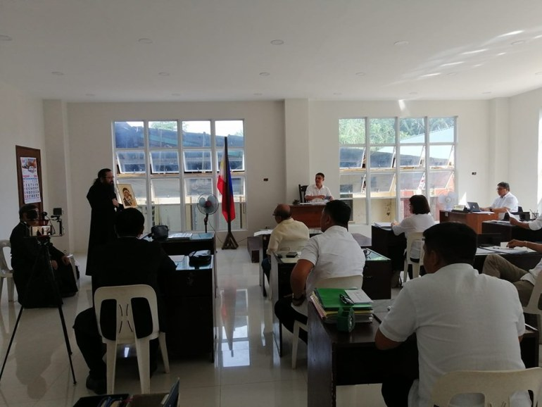 Father Philip at Guiuan