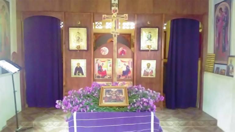 Holy Thursday at St John's