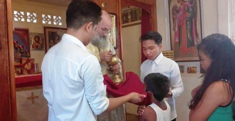 Pascha Communion