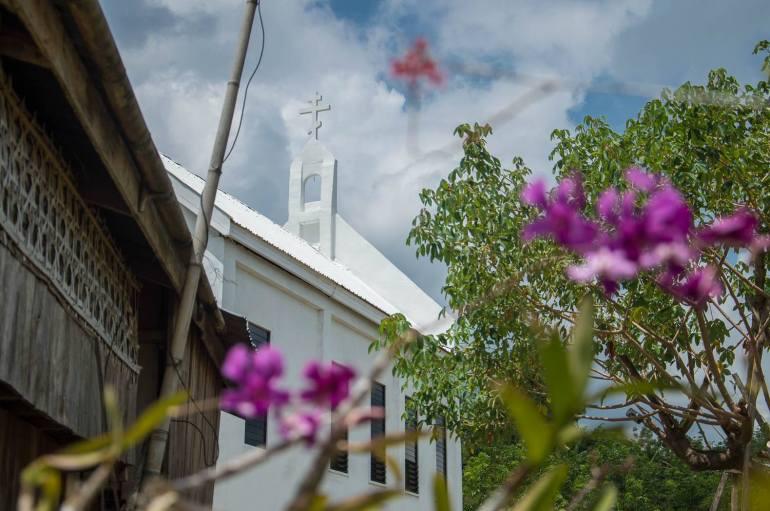 Santa Elena Church at Pascha