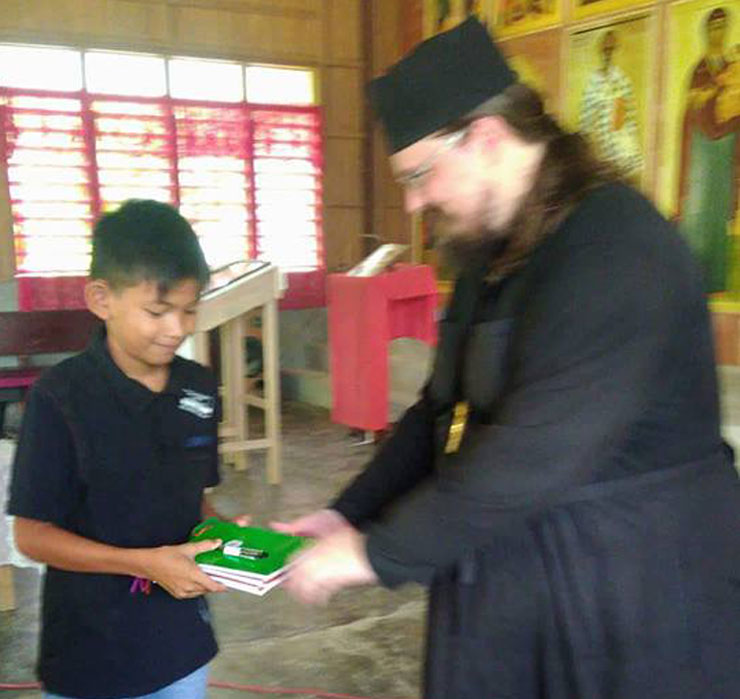 School supplies in Arakan