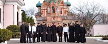 Seminarians in Russia