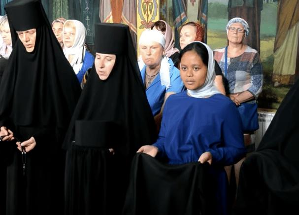 Tonsure of Nun Maria