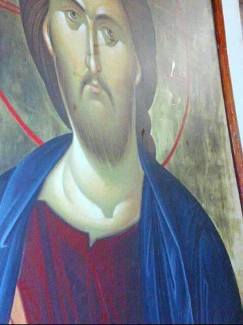 Myrrh on icon