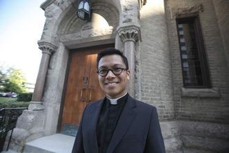 Fr.Geoffrey Angeles first Filipino rector