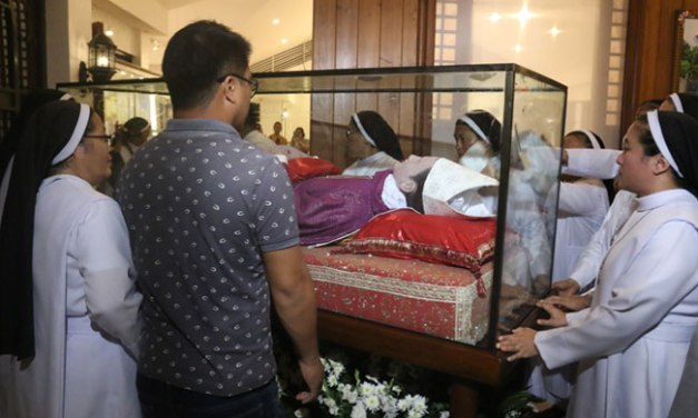 Cebu's Msgr. Camomot's remains moved to museum