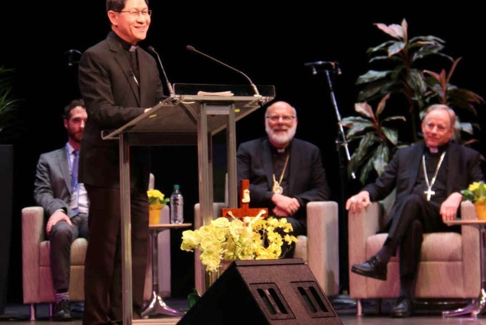Cardinal 'Chito' Tagle wows Vancouver audience