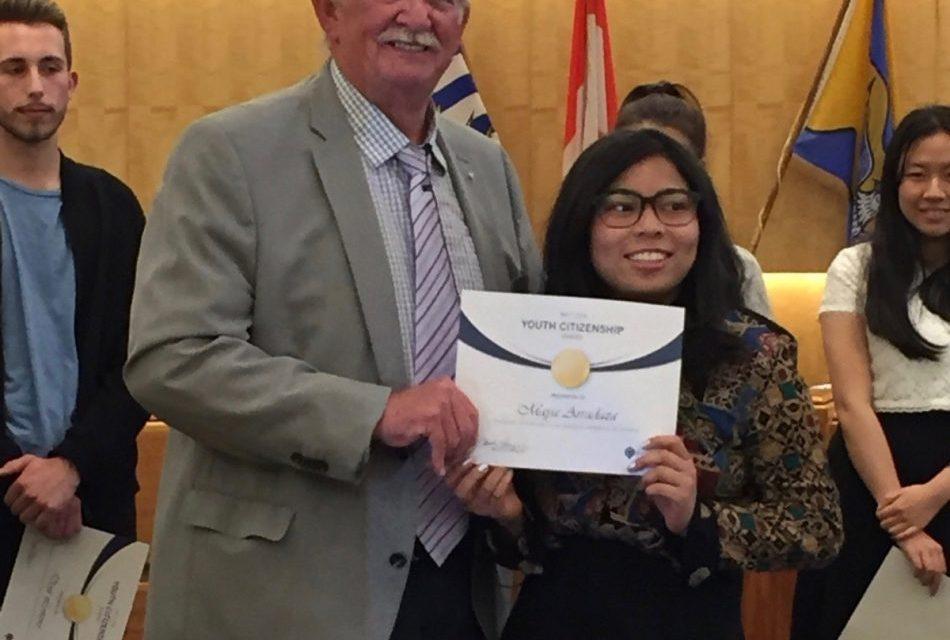 Young Pinays receive Citizenship awards