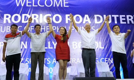 Duterte top aide Jun Evasco lost bid for governor of Bohol