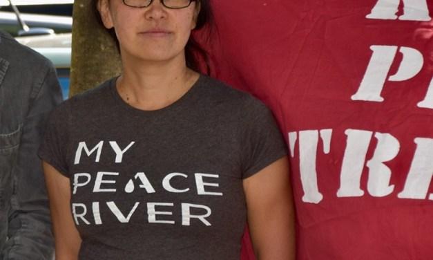 Breaking: Award-winning poet Rita Wong jailed for pipeline protest