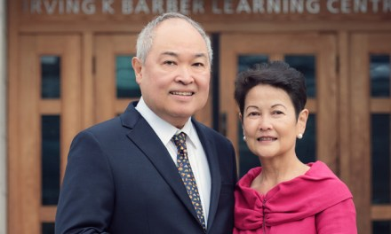 Philanthropy: Marissa and Antonio'Tony' Peña makes donation to UBC Library