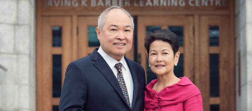 Philanthropy: Marissa and Antonio'Tony' Peña makes donation to UBC Library