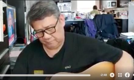 Coronavirus Chronicles 2: Singer-songwriter Levy Abad sings of Covid