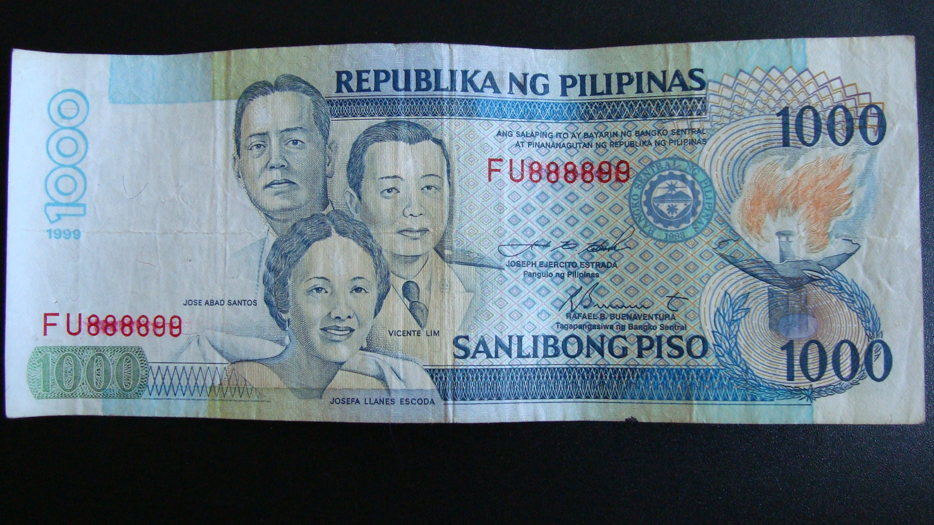One Thousand Pesos Down The Drain