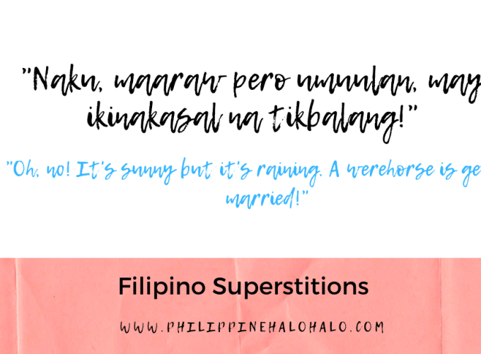Philippine Halo-halo Filipino Culture Filipino Superstitions