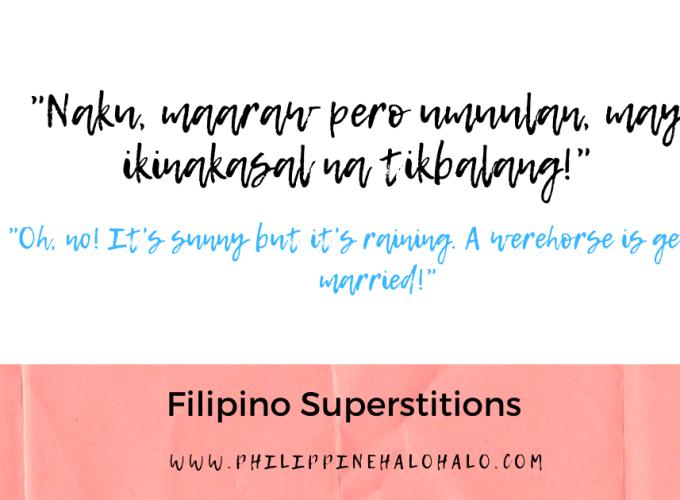 Philippine Halo-halo Filipino Culture Filipino Superstitions