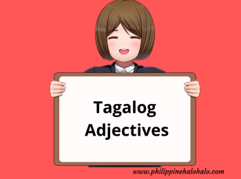 Philippine Halo-halo Tagalog Lessons Tagalog Adjectives
