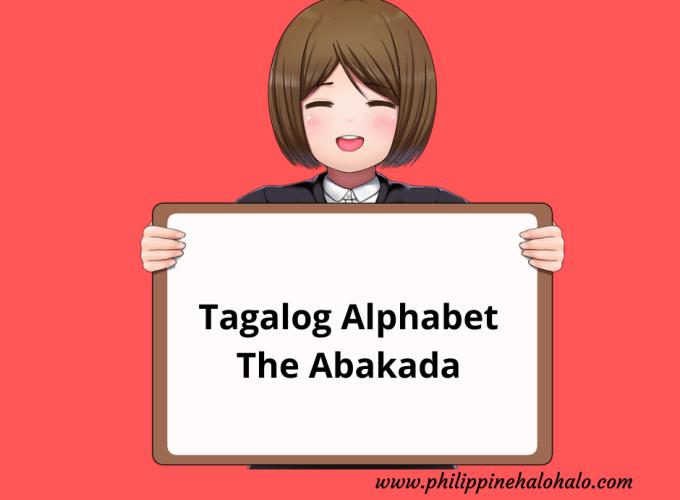 Philippine Halo-halo Tagalog Lessons Tagalog Alphabet Abakada