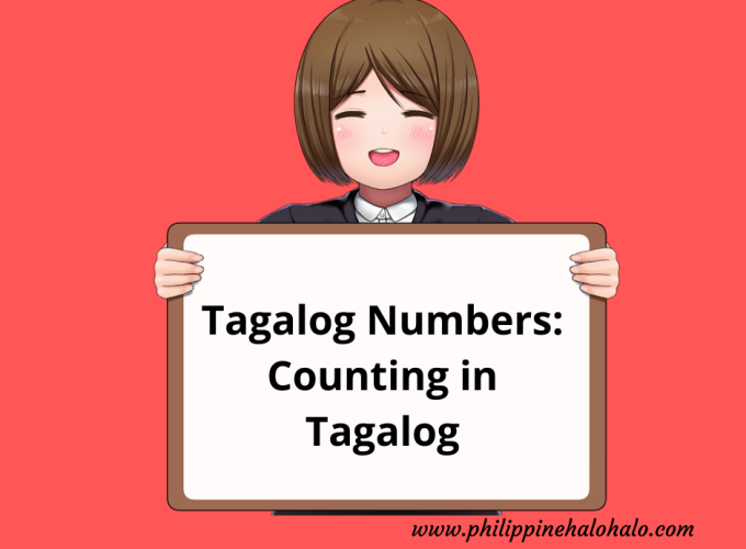 Philippine Halo-halo Tagalog Lessons Tagalog Numbers Counting in Tagalog
