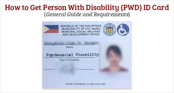 How to Get Person With Disability (PWD) ID Card