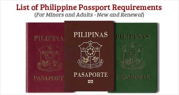 Philippine Passport Requirements