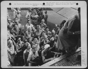 Repatriation STIC US Army nurses, February 1945