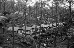 Baguio rental cottages, 1945