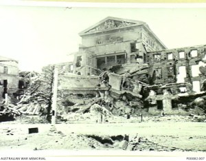 MANILA, THE PHILIPPINES, 1945. LEGISLATIVE BUILDING, BADLY SHELL DAMAGED. (DONOR: B. COOPER) SEE ALSO P082/68/13,14.