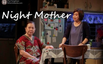 "Pagpupugay Para sa ""'Night, Mother"" ng PETA Theater Center"
