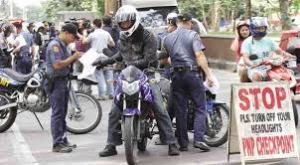 """LTO said the bike would have to """"pass"""" a physical check to sell, this was done at another location in Davao"""