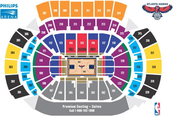 Philliphs Arena Seating