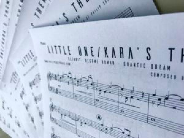 Detroit become human sheet music