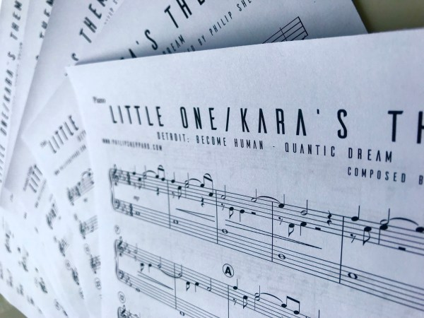 Detroit become human sheet music