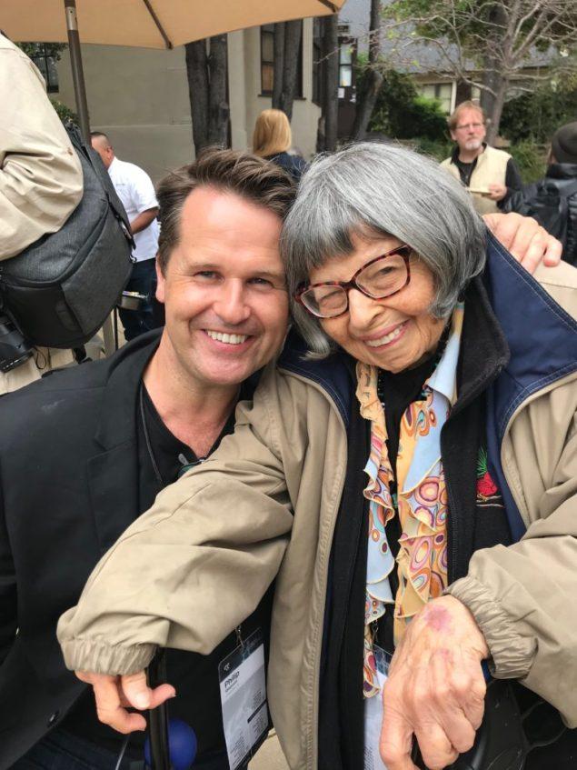 Gloria Minsky and Philip Sheppard at EG 2018