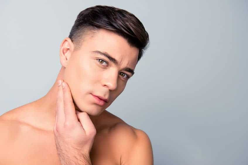 Permanent hair removal for men