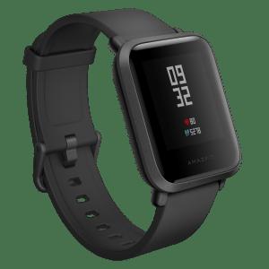 Amazfit Bip Smartwatch Onyx Black Hero Img 01