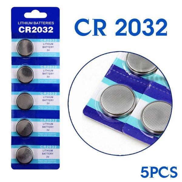 Bateria Lithium Cr2032 3v 5pcs Img 01