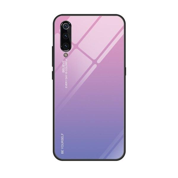 Capa Dura Emborrachada Vidro Temperado Gradiente Roxo Claro Rosa Claro Essager Be Yourself Xiaomi Mi 9 Img 11