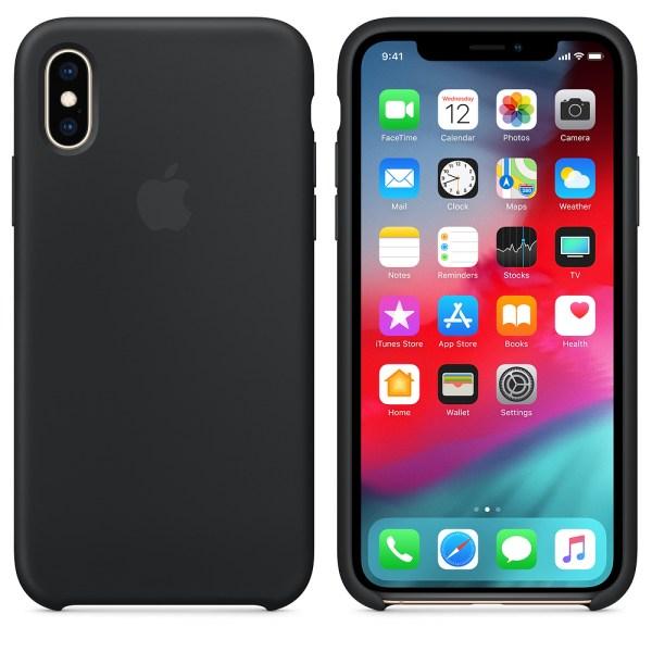 Capa Silicone Iphone Xr Preto Img 02
