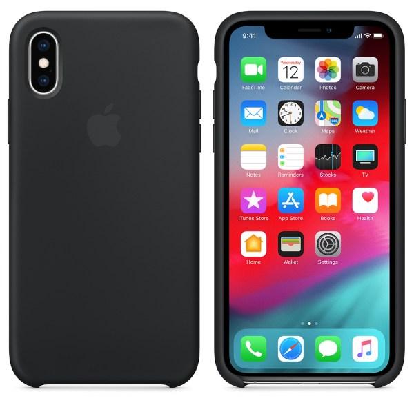 Capa Silicone Iphone Xr Preto Img 03