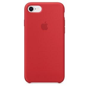 Capa De Silicone Para Iphone 8 7 Vermelha Img 01