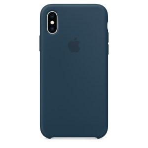 Capa De Silicone Para Iphone Xs Max Verde Pacífico Img 01
