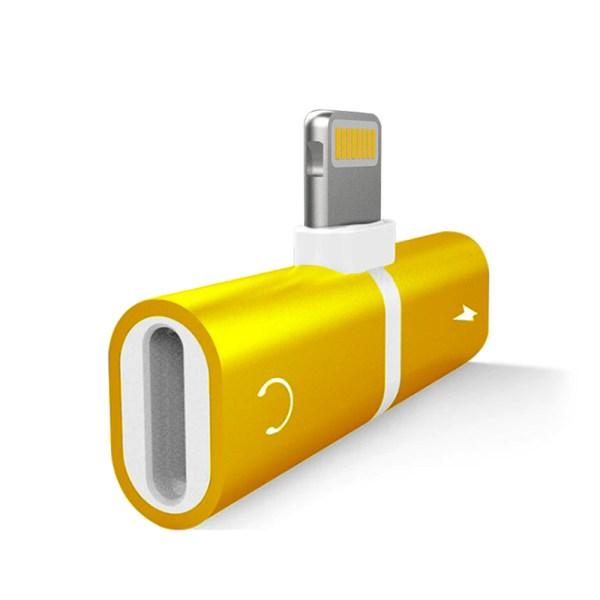 Duplicador Lightning iPhone Dourado IMG 02