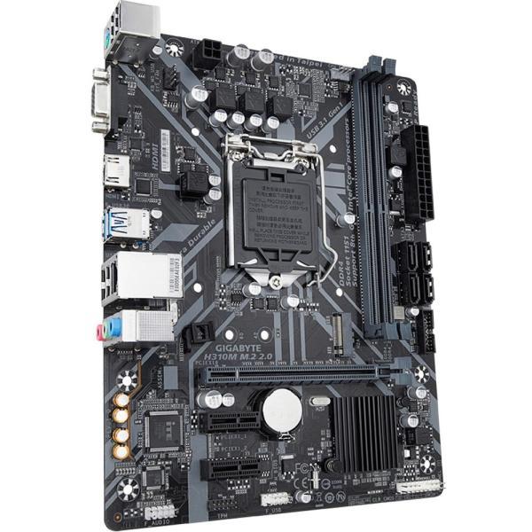 Placa Mae Ultra Durable Gigabyte H310m M.2 2.0 Intel Lga 1151 Img 03